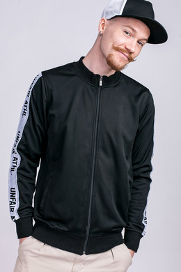 Олимпийка UNFAIR ATHLETICS Taped Tracktop Black фото