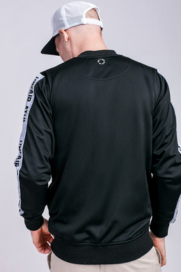 Олимпийка UNFAIR ATHLETICS Taped Tracktop Black фото 2