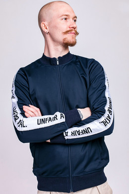 Олимпийка UNFAIR ATHLETICS Taped Tracktop Navy фото
