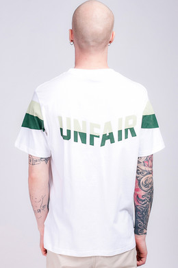 Футболка UNFAIR ATHLETICS Unfair Flag T-Shirt White/Green фото 2
