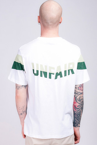 Футболка UNFAIR ATHLETICS Unfair Flag T-Shirt White/Green фото 5