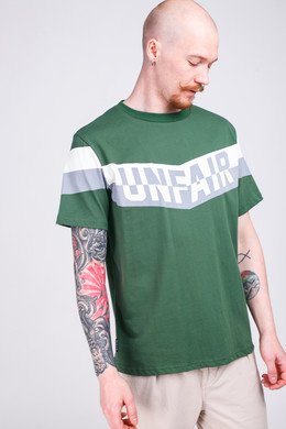 Футболка UNFAIR ATHLETICS Unfair Flag T-Shirt Boston Green фото
