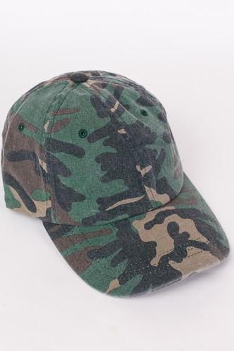 цена на Бейсболка FLEXFIT Low Profile Camo Washed Cap (Wood Camo, O/S)