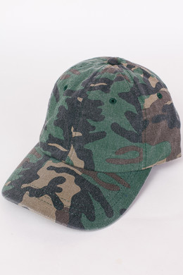 Бейсболка FLEXFIT Low Profile Camo Washed Cap Wood Camo фото 2
