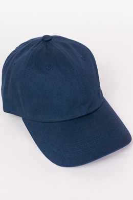 Бейсболка FLEXFIT Low Profile Organic Cotton Cap Navy фото