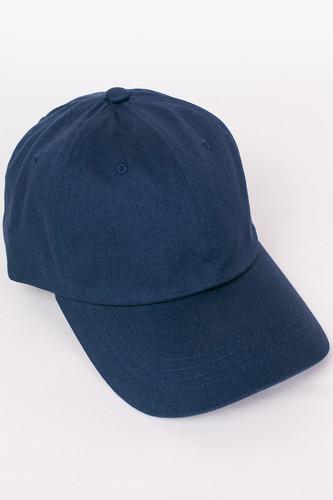 цена на Бейсболка FLEXFIT Low Profile Organic Cotton Cap (Navy, O/S)