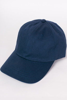 Бейсболка FLEXFIT Low Profile Organic Cotton Cap Navy фото 2