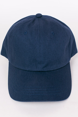 Бейсболка FLEXFIT Low Profile Organic Cotton Cap Navy фото 7