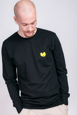 Толстовка WU-WEAR Front-Back Crewneck Black фото