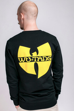 Толстовка WU-WEAR Front-Back Crewneck Black фото 2