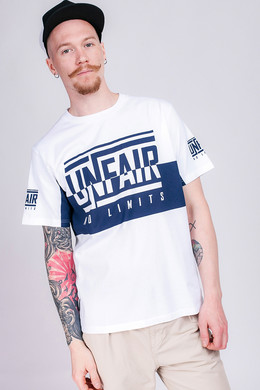 Футболка UNFAIR ATHLETICS No Limits T-Shirt White/Navy фото