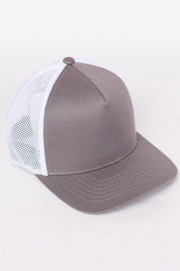 Бейсболка FLEXFIT 110 Trucker Grey/White фото