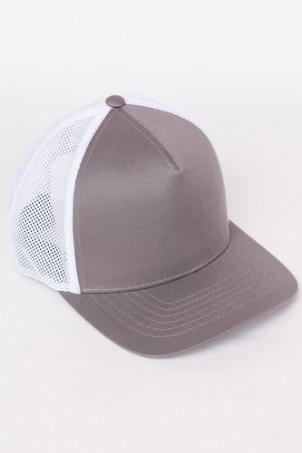 Бейсболка FLEXFIT 110 Trucker (Grey/White, O/S) шапка footwork flexfit yupoong light grey