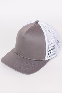 Бейсболка FLEXFIT 110 Trucker Grey/White фото 2