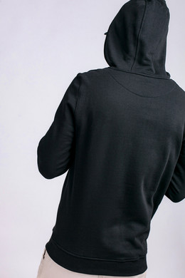 Толстовка WU-WEAR Black Logo Hoody Black фото 2