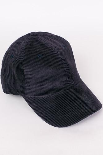 цена на Бейсболка FLEXFIT Low Profile Corduroy Dad Cap (Navy, O/S)