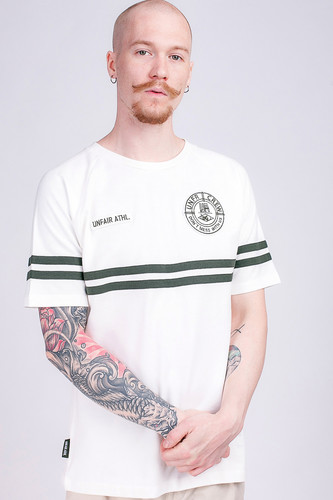 Футболка UNFAIR ATHLETICS DMWU Pique Tennis T-Shirt Off White фото 5