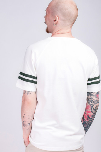 Футболка UNFAIR ATHLETICS DMWU Pique Tennis T-Shirt Off White фото 6