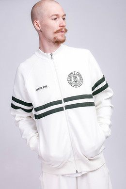 Олимпийка UNFAIR ATHLETICS DMWU Pique Tennis Tracktop Off White фото