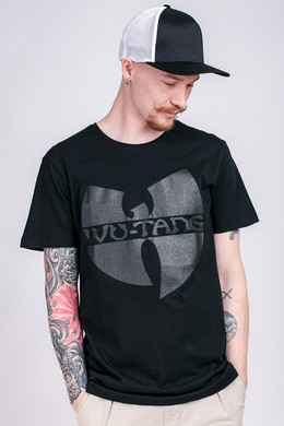 Футболка WU-WEAR Black Logo T-Shirt Black фото