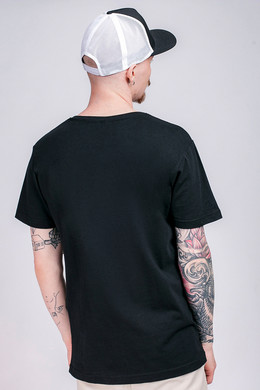 Футболка WU-WEAR Black Logo T-Shirt Black фото 2