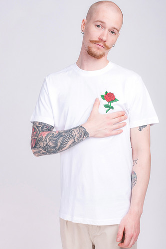 цена на Футболка MISTER TEE Rose Tee (White, L)