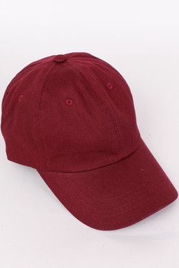 Бейсболка FLEXFIT Low Profile Cotton Twill Maroon фото