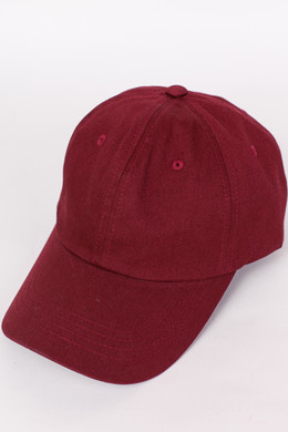 Бейсболка FLEXFIT Low Profile Cotton Twill Maroon фото 2
