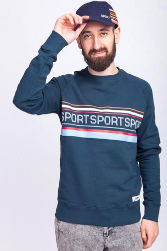 Толстовка ЗАПОРОЖЕЦ Спорт 2 (Blue Dusk, 2XL) лонгслив запорожец спорт 2 blue dusk grey sperkale xs