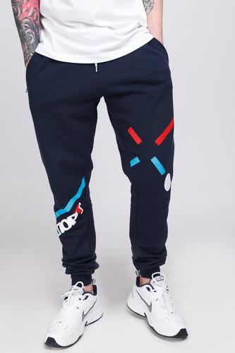 Брюки ЗАПОРОЖЕЦ Sport Pants 3 (Black Iris, S)