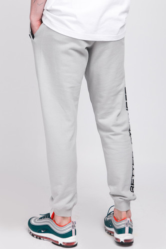 Брюки TRUESPIN Slogan Pants Grey Violet фото 9