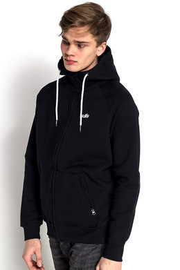 Толстовка SKILLS Double Pocket Hoodie Black Deep Black фото