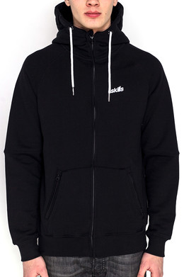 Толстовка SKILLS Double Pocket Hoodie Black Deep Black фото 2