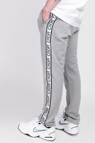 Брюки ЗАПОРОЖЕЦ Sport Pants 2 (Grey Melange, 2XL)