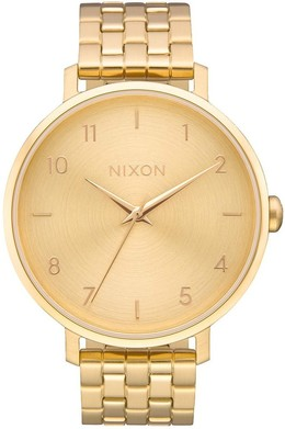 Часы NIXON ARROW Gold фото