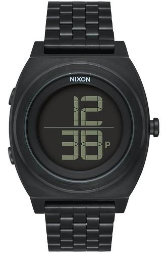 цена Часы NIXON TIME TELLER DIGI SS (ALL BLACK)