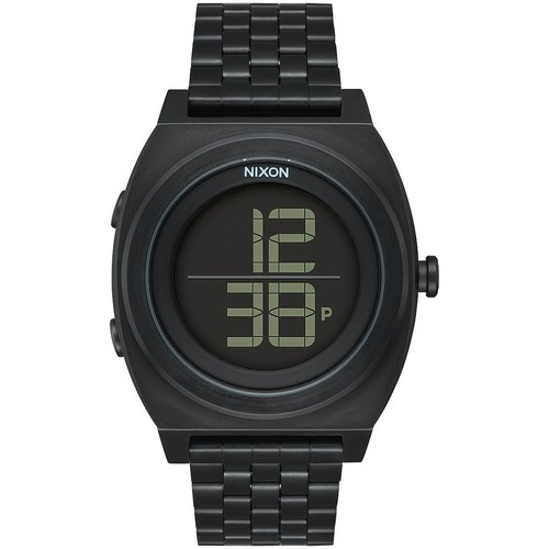 Часы NIXON TIME TELLER DIGI SS (ALL BLACK) цена и фото