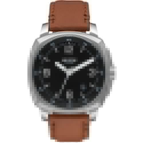 Часы NIXON CHARGER LEATHER (BLACK/SADDLE) часы nixon 38 20 leather black hot pink