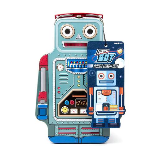Ланч-бокс robot (Голубой) ланч бокс safety food