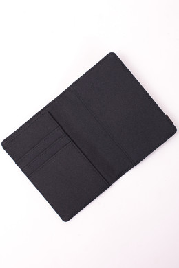 Кошелек HERSCHEL Raynor Passport Holder RFID Black Crosshatch/Black фото 2