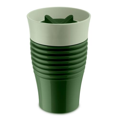 Термокружка safe to go, зелёная (зелёный)