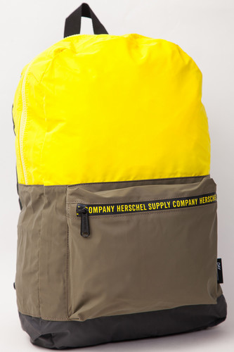 Рюкзак HERSCHEL Packable Daypack 10474 Sulfur Spring/Olive Night/Black Reflective фото 8