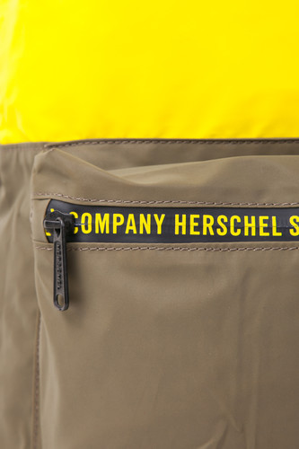 Рюкзак HERSCHEL Packable Daypack 10474 Sulfur Spring/Olive Night/Black Reflective фото 13
