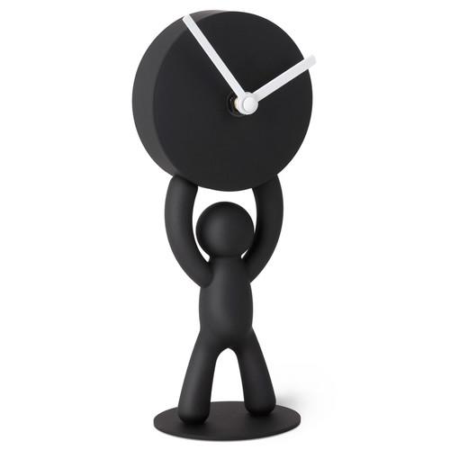 Часы buddy настольные черные (Черный)