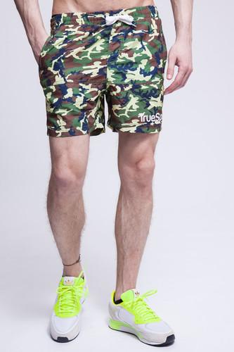 Шорты TRUESPIN Camo Shorts (Green Camo, XS)
