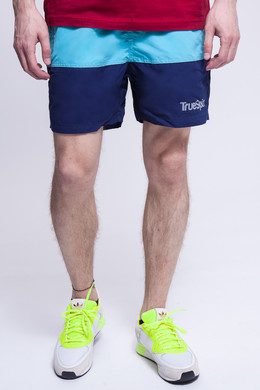 Шорты TRUESPIN Basics Swim Shorts Light Blue/Navy фото