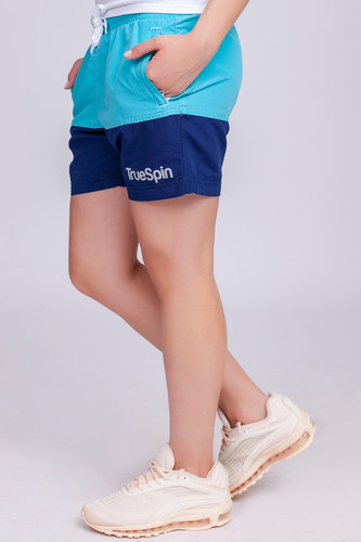Шорты TRUESPIN Basics Swim Shorts Light Blue/Navy фото 9