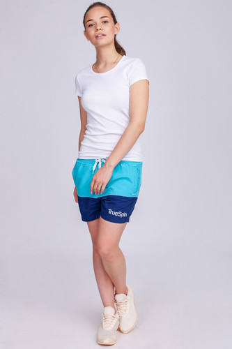 Шорты TRUESPIN Basics Swim Shorts Light Blue/Navy фото 13