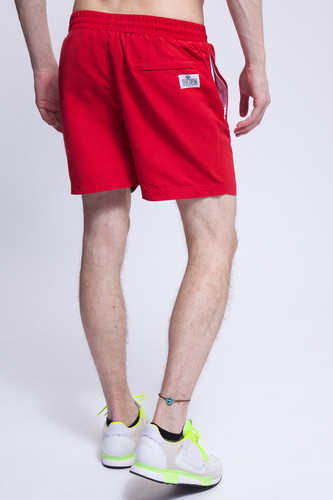 Шорты TRUESPIN Basics Swim Shorts Red фото 5
