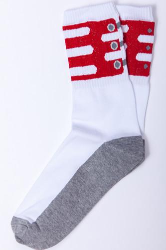 Носки SKILLS Clamp (Белый/Красный, 40-44)